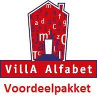 Voordeelpakket VillA Alfabet Rood